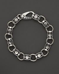 John Hardy - Metallic Mens Dot Silver Link Bracelet for Men - Lyst