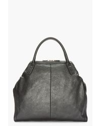 Alexander McQueen - Black Dogeared City Handbag for Men - Lyst