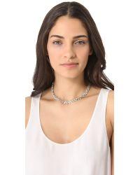 Belle Noel - Metallic Vintage Glamour Necklace - Lyst