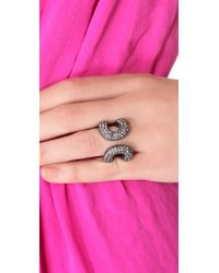 Giles & Brother - Metallic Athena Ring - Lyst