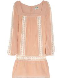 Alice By Temperley | Pink Esmeralda Georgette Tunic Dress | Lyst