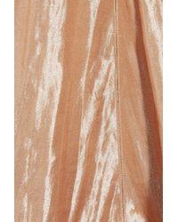 Calvin Klein - Brown Kainen Metallic Lurex-blend Dress - Lyst