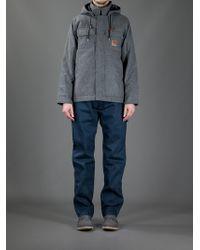 Carhartt - Gray Hooded Sweater for Men - Lyst