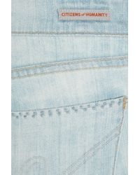 Citizens of Humanity - Blue Ava Low-rise Straight-leg Jeans - Lyst