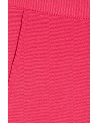 Elizabeth and James - Pink Kayden Stretch Wool-Twill Cropped Skinny Pants - Lyst