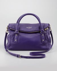kate spade new york - Purple Cobble Hill Leslie Small Satchel Bag Dk African Violet - Lyst