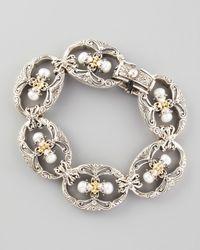 Konstantino - Metallic Kassandra Figure8 Bracelet - Lyst