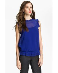 Ted Baker | Blue Jallow Top | Lyst
