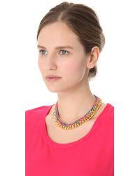 Aurelie Bidermann - Metallic Do Brasil Necklace - Lyst