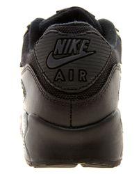 Nike   Black Air Max 90 08 Gold Leopard Trainers   Lyst
