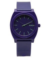 Nixon | Purple Time Teller Watch for Men | Lyst
