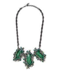 BaubleBar - Green Krypton Collar - Lyst