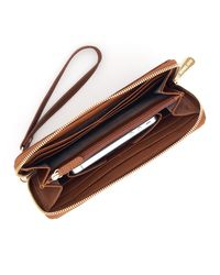 MICHAEL Michael Kors | Brown Continental Iphone Case | Lyst