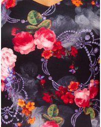 ASOS Multicolor Bodycon Dress in Baroque Print