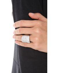 Michael Kors | Metallic Concave Ring | Lyst