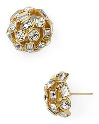 kate spade new york | Metallic Kaleidoball Dome Stud Earrings | Lyst