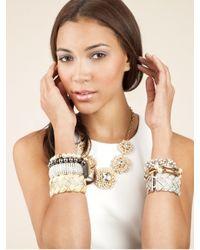 BaubleBar | Metallic Ivory Pearl Cuff | Lyst