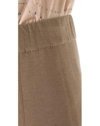 Donna Karan - Brown Legging Pants - Lyst