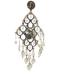 Gas Bijoux - White Mother Of Pearl Earring - Lyst