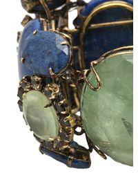 Iradj Moini - Green Cuff Bracelet - Lyst