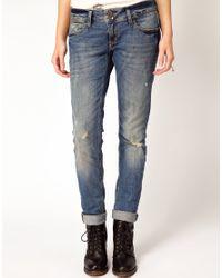 River Island - Blue Matlida Skinny Jeans - Lyst