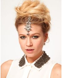 ASOS - Metallic Tikka Hair Clip - Lyst