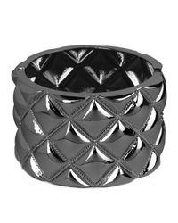 BaubleBar - Metallic Hema Quilt Cuff - Lyst