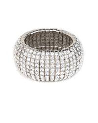 BaubleBar | Metallic Silver Disco Cuff | Lyst