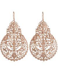 I Am Ileana Makri | Pink Rose Gold Marrakesh Earrings | Lyst