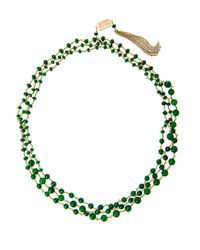 Rosantica | Green Rosarietto Jade Necklace | Lyst