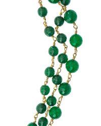 Rosantica | Green Rosarietto Jade Necklace | Lyst