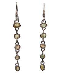 Lou Zeldis | Multicolor Dangling Earring | Lyst