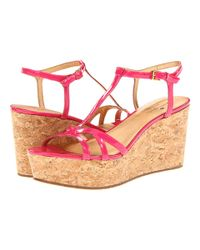 Kate Spade | Pink Sawyer Mini Sequin Slingback Pump | Lyst
