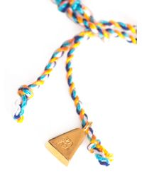Lucy Folk - Orange Neon Taco Braided Bracelet - Lyst