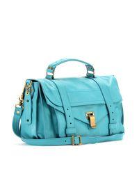 Proenza Schouler | Blue Ps1 Medium Leather Tote | Lyst