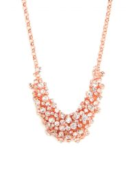 BaubleBar | Metallic Ice Cluster Necklace | Lyst