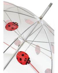 ModCloth   Metallic Ladybug Out Umbrella   Lyst