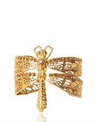 Alexander McQueen | Metallic Dragonfly Bracelet | Lyst