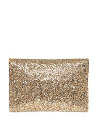 Anya Hindmarch   Black Rainbow Glitter Clutch   Lyst