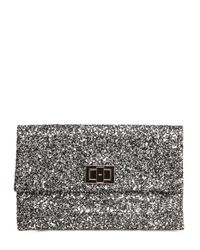 Anya Hindmarch | Metallic Valorie Glitter Clutch | Lyst