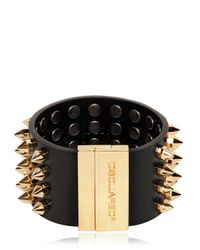 DSquared² | Black 4cm Studded Leather Killer Bracelet for Men | Lyst
