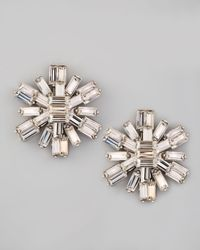 kate spade new york | Metallic Electric Gardens Crystal Stud Earrings | Lyst