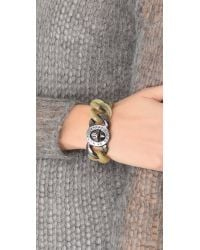 Marc By Marc Jacobs - Brown Small Candy Turnlock Bracelet - Lyst