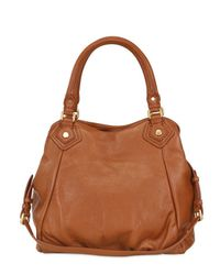 Marc By Marc Jacobs - Brown Fran Classic Q Leather Top Handle - Lyst