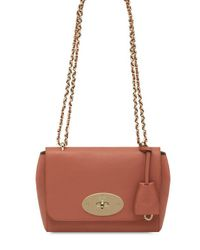 Mulberry - Brown Lily Smooth Leather Shoulder Bag - Lyst