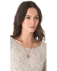Pamela Love   Metallic Mini Arrowhead Pendant Necklace   Lyst