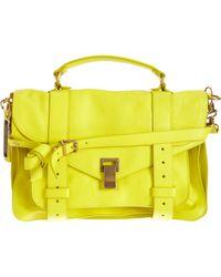 Proenza Schouler - Yellow Ps1 Medium Leather - Lyst
