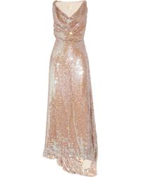 Vivienne Westwood Gold Label | Pink Long Savannah Sequined Net Gown | Lyst