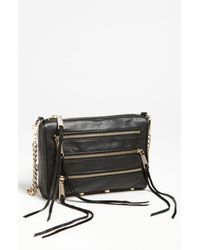 Rebecca Minkoff | Brown 'mini 5 Zip' Convertible Crossbody Bag | Lyst