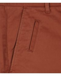 AllSaints | Brown Pipe Chino for Men | Lyst